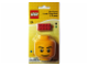 Gear No: 504  Name: Pencil Sharpener, Minifigure Head and Eraser Pack blister pack