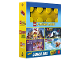 Gear No: 5051888226162  Name: Video DVD - 4 Original Movies - The LEGO Movie, Batman The Movie, Friends Girlz 4 Life, Scooby-Doo Haunted Hollywood - with Lunch Box