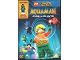 Gear No: 5051892217323  Name: Video DVD - Aquaman - Rage of Atlantis with Minifigure
