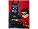 Gear No: 5055285346157  Name: Bedding, Fleece Blanket Polyester (120 x 150 cm) - Batman and Robin