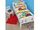 Gear No: 5055285391225  Name: Bedding, Duvet Cover and Pillowcase (120 x 150 cm) - Duplo I Love Building
