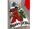 Gear No: 5055285394110  Name: Bedding, Duvet Cover and Pillowcase (135 x 200 cm) - Ninjago Masters of Spinjitsu
