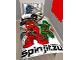 Gear No: 5055285394110  Name: Bedding, Duvet Cover and Pillowcase (135 x 200 cm) - Ninjago Masters of Spinjitsu