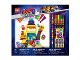 Gear No: 52305  Name: Stationery Set, The LEGO Movie 2, Duplo Monsters