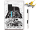 Gear No: 52528  Name: Stationery Set, Star Wars Naboo Starfighter Creativity Set