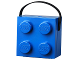 Gear No: 5711938023683  Name: Lunch Box, Brick 2 x 2 with Handle, Blue