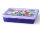Gear No: 5711938027247  Name: Storage Box, Friends, Trans-Purple with Lavender Lid - Small