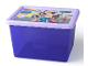 Gear No: 5711938027285  Name: Storage Box, Friends, Trans-Purple with Lavender Lid - Large