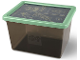 Gear No: 5711938029821  Name: Storage Box, The LEGO Ninjago Movie, Trans-Black with Sand Green Lid - Large