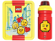 Gear No: 5711938030452  Name: Lunch Box Set, Iconic with Drinking Bottle, Girls