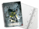 Gear No: 5841a  Name: Notebook, Bionicle Phantoka Graph Paper, Spiral Bound