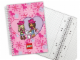 Gear No: 5841b  Name: Notebook, Girls Graph Paper, Spiral Bound (Clikits)