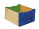 Gear No: 60031  Name: Rolling Storage Box (Green / Blue)