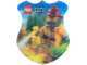 Gear No: 6012310  Name: Sticker, City Fire, Shield Shape, 3D