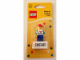 Gear No: 6016891  Name: Magnet Set, I Brick Chicago LEGO Minifigure, Water Tower Place, Chicago, IL blister pack