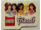 Gear No: 6031636stk01  Name: Sticker for Gear 6031636 - Friends, 3D