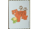 Gear No: 6031646card06  Name: DUPLO Animal Memory Card #6 - Tiger