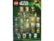 Gear No: 6035777  Name: Star Wars 2013 Minifigure Gallery Poster, Spanish Edition (Single Sided)