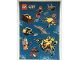 Gear No: 6126264  Name: Sticker, City Deep Sea Explorers, Sheet of 10 Stickers