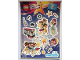 Gear No: 6126478  Name: Sticker, Friends Popstars, Sheet of 16 Stickers
