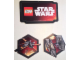 Gear No: 6126906  Name: Display Sign Hanging, Star Wars Episode 7, X-wing and Tie Fighter