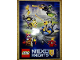 Gear No: 6149596-6157211  Name: Sticker, Nexo Knights, Battle Stickers, Sheet of 5