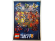 Gear No: 6166403  Name: Sticker, Nexo Knights, Battle Stickers, Sheet of 9