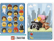 Gear No: 6187197  Name: Community Set 45022 Game Card 18 - Toddler