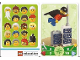 Gear No: 6187247  Name: Education Set 45023 Game Card 20 - Super Hero