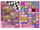 Gear No: 6246172  Name: Sticker, Friends, Sheet of 44 Stickers, Double-Sided