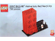 Gear No: 6258618  Name: Pencil Pot, LEGO Brick 60th Anniversary Red