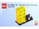 Gear No: 6258619  Name: Pencil Pot, LEGO Brick 60th Anniversary Yellow