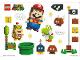 Gear No: 6281467  Name: Sticker Sheet, Super Mario - Sheet of 20