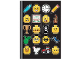 Gear No: 6299182  Name: Notebook, Minifigures Heads and Accessories