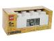 Gear No: 7001026  Name: Alarm Clock, Brick 2 x 4 - White