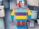 Gear No: 7462  Name: Stripy Plush Mini