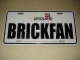 Gear No: 76058LLFL  Name: License Plate Legoland Florida with 'BRICKFAN' Pattern