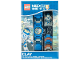 Gear No: 8020516  Name: Watch Set, Nexo Knights with Clay Minifigure