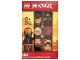 Gear No: 8021728  Name: Watch Set, Ninjago Cole Secrets of the Forbidden Spinjitzu