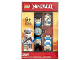 Gear No: 8021735  Name: Watch Set, Ninjago Zane Secrets of the Forbidden Spinjitzu
