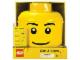Gear No: 81010a  Name: Sort & Store Minifigure Head, Standard Smile Pattern