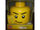 Gear No: 81010b  Name: Sort & Store Minifigure Head - Determined Pattern