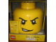 Gear No: 81010c  Name: Sort & Store Minifigure Head - Crooked Smile Pattern