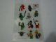 Gear No: 81346  Name: Sticker, Minifigures Sheet, Castle Ninja