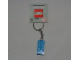 Gear No: 850152  Name: 2 x 4 Brick - Blue Key Chain