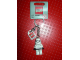 Gear No: 850355  Name: Stormtrooper Key Chain with Lego Logo Tile, Modified 3 x 2 Curved with Hole
