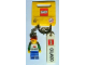 Gear No: 850491  Name: I Brick Orlando Minifigure Key Chain, Lego Store Orlando, FL