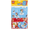 Gear No: 850510  Name: Gift Wrap & Tags, Santa and Penguin / Duck Pattern