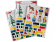 Gear No: 850797  Name: Sticker Sheet, Classic Wall Stickers