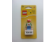 Gear No: 850802  Name: Magnet Set, I Brick Tokyo LEGO Minifigure, Tokyo, Japan - Glued with 2 x 4 Brick Base blister pack